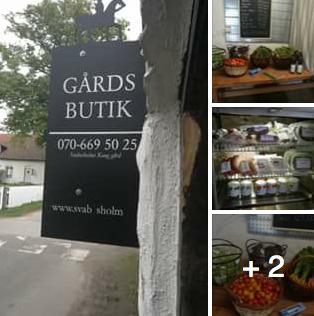 Gårdsbutik På Svabesholm!