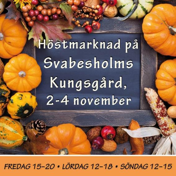 Höstmarknad På Svabesholm!