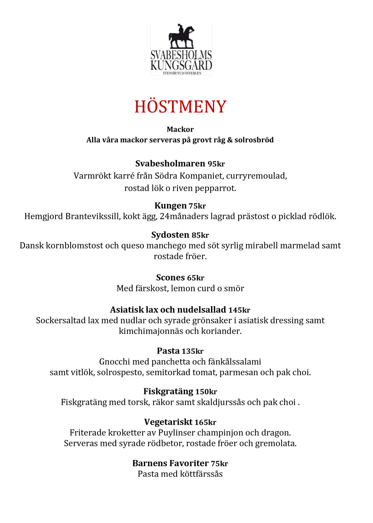 Höstmeny Sept 2018 1